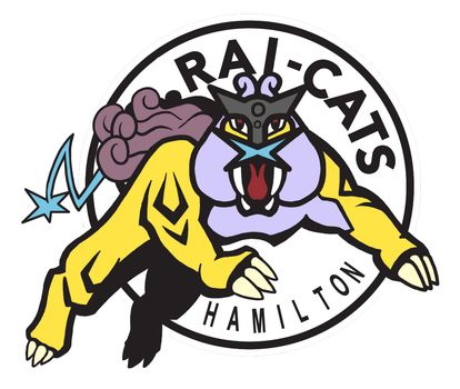 Hamilton Rai-Cats Logo by Chain-Of-Ashes