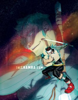 the Star Gladiator by theCHAMBA