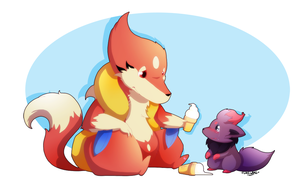 Ice Cream Syndrome by TamarinFrog