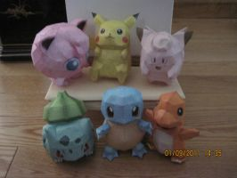 Pokedoll Collection Thus Far by PrincessStacie