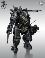 helldiver mecha by StTheo