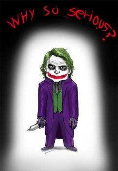 Why so serious? by IZRA