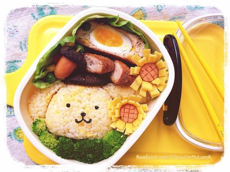 Pom Pom Purin Lunch box by loveewa