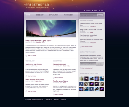 Space Thread Layout by nextexile