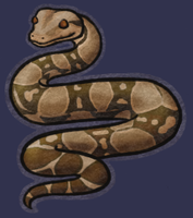 Boa Constrictor by Minneral