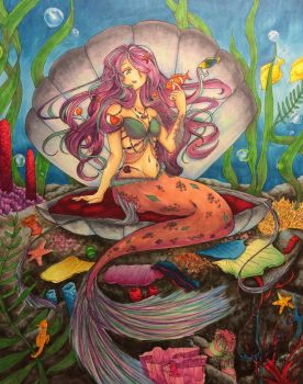 Mermaid by Angels-Little-Chii
