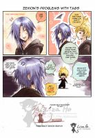 Zexion and the emo tag by eikomakimachi