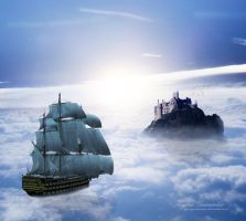 The Cloudstrider's Travel by RogerioGuimaraes