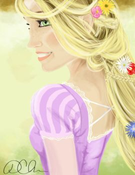 Rapunzel by dawnmichellie
