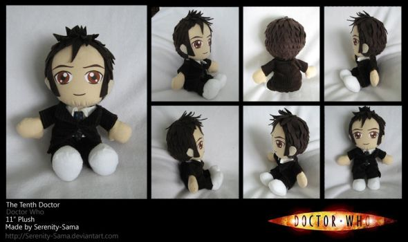 Plushie: The Tenth Doctor - DW by Serenity-Sama