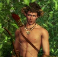 The Satyr in the Wood by wheeter