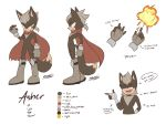 Asher Reference 2017 by namrii
