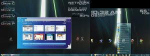 my windows 7 x64 HUDs desktop by jimmyselix