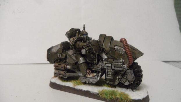 Nurgle Chaos biker  picture 3 by Dible