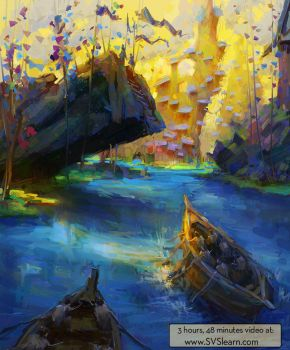 Painting Fantasy Environments - Video Class by MarcoBucci