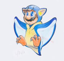 Form Fusion #1 - Penguin and Flying Squirrel by Creation7X24
