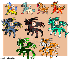 Callob adoptables -close- by Twinony