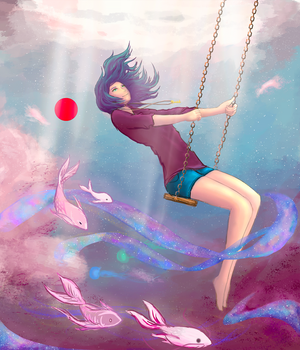 In Her Own World Project: Underwater Dreams by Tigress1314