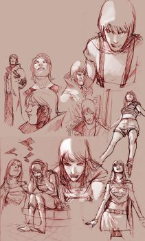 some sketchs by amilcar-pinna
