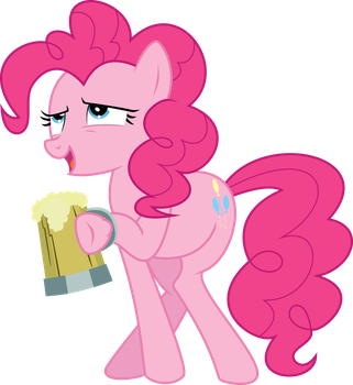 Pinkie Pie and the Cider by violetferret
