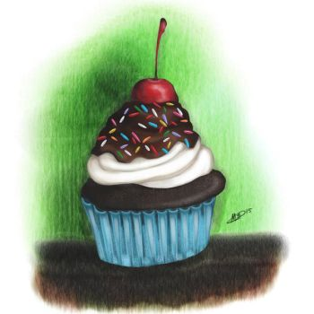Cupcake by MattOodles