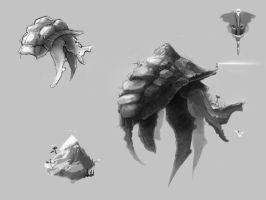 Never-Ending Story: Morla Concept by xvortexbladex
