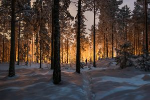 Between two worlds by MikkoLagerstedt