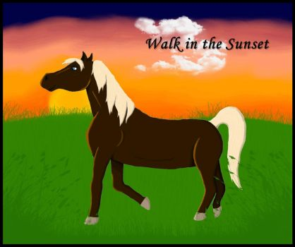 Raphael - Walk in the Sunset by oOKessandraOo