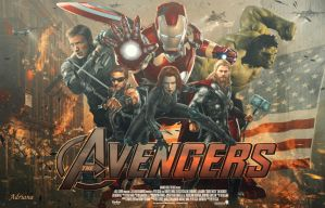 The Avengers by Adriana-Madrid