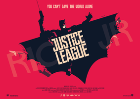 JUSTICE LEAGUE Poster Art by RicoJrCreation