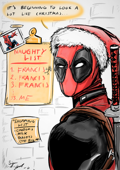 Deadpool - He's Coming To Town! by Tamagi