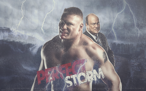 The Perfect Storm - Brock Lesnar by Mr-Enjoy