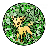 Leafeon by Nari19