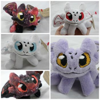 Toothless Dragon plushes by TheFCShop