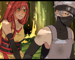 Rena + Kakashi [Screenshot] by an-iop