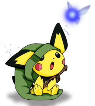 Pichu - Link by ShingenIsen