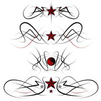 Tribal tattoo designs by fraser0206
