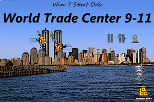 WTC 9-11 Start Orb for Win 7 by alreadybeenclaimed