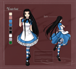 Alice concept 2 by Kare-Valgon