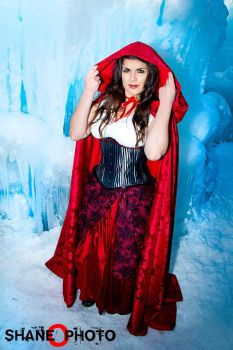 Red from Once Upon a Time Costume - Ice Castles 5 by PhoenixForce85