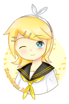 Kagamine Rin by FinaZizy
