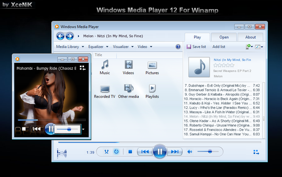 Windows Media Player 12 Basic by XceNiK