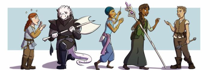 Dungeons and Dragons Legacy by StirvinoLady