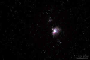 The Orion Nebula by LinsenSchuss