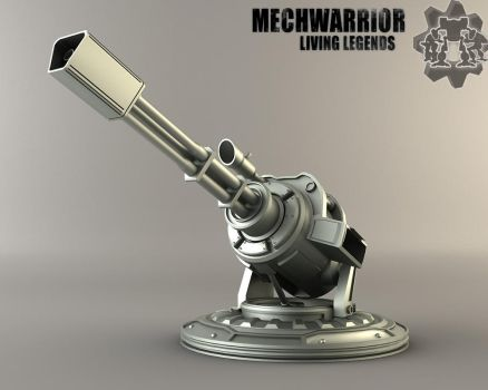 MWLL Automated Infantry Turret by MechLivingLegends