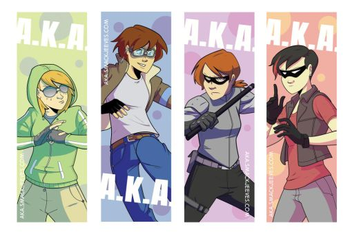 Bookmarks by ComickerGirl