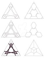 Triangle Designs by Dace-X