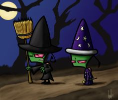 Witches and Wizards by bluesoru