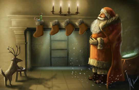 Santa's laugh by M-Armas