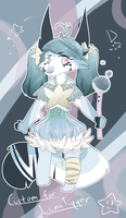 Custom #2 ~Bubble Witch~ by GuineapiqGal